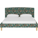 Drita King Upholstered Panel Bed