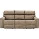 Blake Microfiber Power Sofa w/ Power Headrest