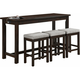 Holders Counter Height Dining Table and Stools