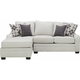 Caid 2-pc.Chenille Sectional Sofa