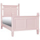 Varsity Full Post Bed - Light Pink