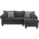 Piper 2-pc. Chenille Sectional Sofa