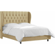 Thayer Full Tufted Wingback Bed