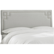 Angelo Queen Headboard - Silver