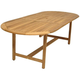 Lifestyle Garden Outdoor Oval Dining Table w/ Leaf