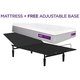 Purple Hybrid Premier 4 Twin XL Mattress w/ Free Adjustable Base