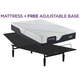 Serta iComfort Foam CF2000 Firm Twin XL Mattress w/ Free Adjustable Base