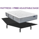 King Koil Elite Bellmont Plush Queen Mattress w/ Free Adjustable Base