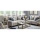 Rosbrook Microfiber Power Sofa
