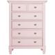 Varsity Bedroom Chest - Light Pink