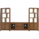 Granthom 3-pc. Wall Unit w/ 6 0