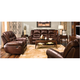 Cole Leather Reclining Loveseat