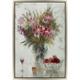 Bouquet of Flowers Framed Canvas Wall Art