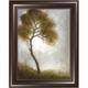 Curving Tree Framed Canvas Wall Art