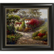 Country Home Framed Canvas Wall Art