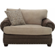 Newman Chenille Chair-and-a-Half