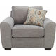 Ollie Chenille Chair-and-a-Half