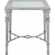 Leanora Glass End Table