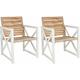 Irina Outdoor Armchair: Set Of 2