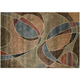 Expressions Multicolored Abstract Area Rug, 7'9 x 10'10