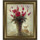 Vase With Milk Pitcher Framed Canvas Wall Art