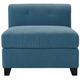 Corolla Microfiber Modular Armless Chair