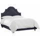 Plumley Twin Bed - Navy