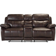 Toby Reclining Console Loveseat