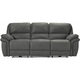 Skye Microfiber Power Reclining Sofa