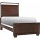 Zander Twin Panel Bed