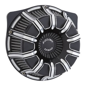 Arlen Ness Deep Cut Inverted Series Air Cleaner Kit For Harley Twin