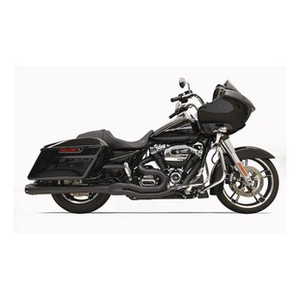 Bassani Road Rage 2-Into-1 Upswept Exhaust For Harley