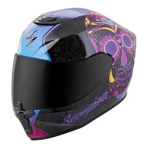 536aff4d About: Scorpion EXO-R420 Sugar Skull Helmet