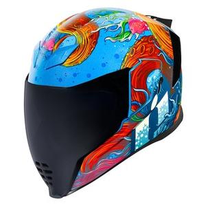 Icon 2019 Folding Motorcycle Helmet Airflite Stim Red