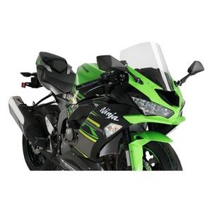 Racingscheibe f/ür Kawasaki Ninja 650 2020 schwarz Puig 3881n