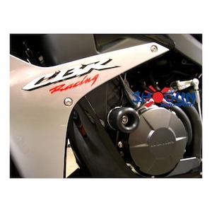 750-3209 MADE IN THE USA 1999-2006 Honda CBR600 F4 F4I Black Frame Sliders