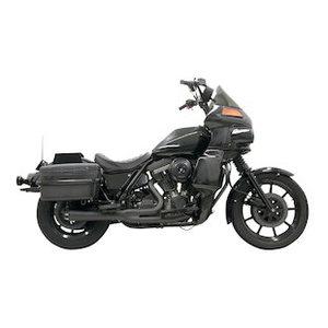 Bassani Road Rage 2-Into-1 Exhaust For Harley Dyna 2006-2017