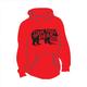 Long Sleeve Bear Logo Hooded Sweatshirt True Red