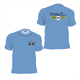 Short Sleeve 200th Anniversary TShirt Columbia Blue