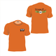 Short Sleeve 200th Anniversary TShirt Texas Orange