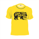 Short Sleeve Bear Logo Youth TShirt Island Yellow