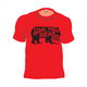 Short Sleeve Bear Logo Youth TShirt True Red