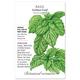 Italian Large Leaf Basil Seed