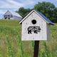 Stark Bear Barn Birdhouse