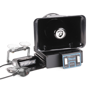 Galls Street Thunder 100W Remote Siren with 2 Light Control on