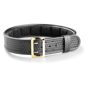 4 Row Stitched fits 54-Inch Waist Gould /& Goodrich B59-54Fl4Rbr Lined Duty Belt 137 cm, Black