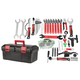 Foundation 748 Bike Tool Kit Includes Tool Box