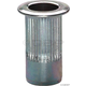 Marson 5mm Riv-Nut Zinc Plated Steel