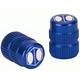 Box Cube Schrader Valve Cap Blue