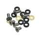 E*Thirteen Iscg Chaniguide Bolt Kit Silver,10mm/16mm Bolts and Spacers, Kit